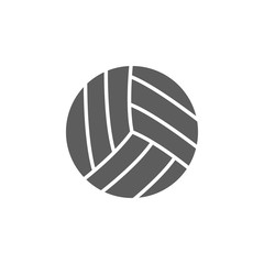 volleyball icon. Element of sport for mobile concept and web apps. Icon for website design and development, app development. Premium icon