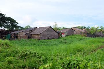traditional Myanmar houses