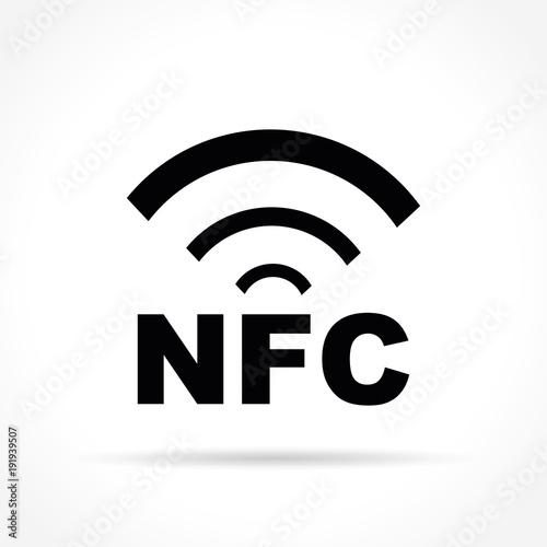 Nfc Icon Vector