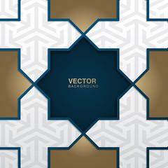 Vector illustration of Ramadan Kareem greeting card template