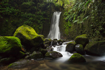 Faial Da Terra Waterfall