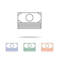 money Icon. Element of a shopping multi colored icon for mobile concept and web apps. Thin line icon for website design and development, app development. Premium icon
