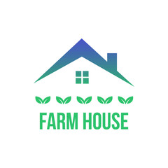 Farm House Logo Template