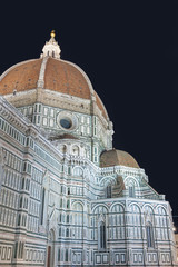 Wall Mural - Basilica of Santa Maria del Fiore (Basilica of Saint Mary of the Flower) in Florence,Tuscany,Italy
