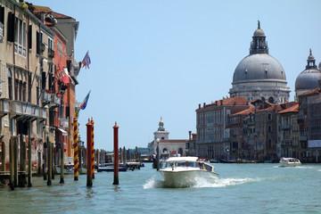 イタリア ベネチアの街並み 水上 Itary Venice aquatic
