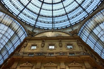 イタリア ミラノ ヴィットーリオ・エマヌエーレ2世のガッレリア Italy Milan Galleria Vittorio Emanuele II