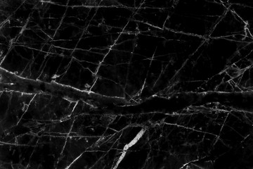 Black marble texture in natural pattern with high resolution for background and design art work. Black granite stone floor.