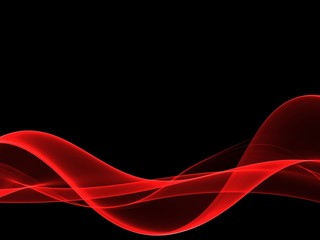 Abstract soft red graphics background for design