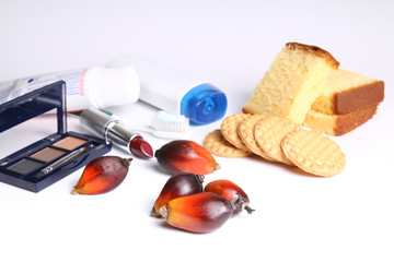 Everyday products containing palm oil