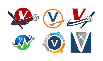 Logotype V Modern Template Set