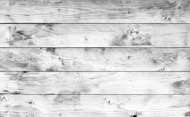 White planks background
