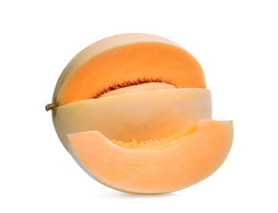 honeydew melon(sunlady) isolated on white background