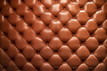Background and texture with leather sofas.