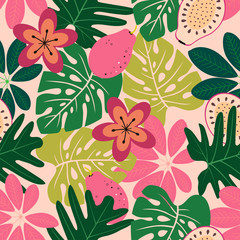 fruit floral pattern