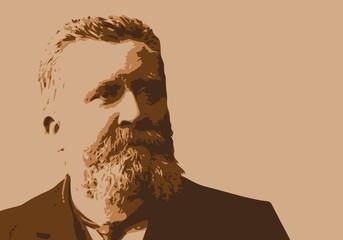 Jaurès - politique - portrait - personnage célèbre - socialiste - Jean Jaurès - homme politique