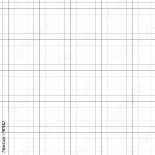 square grid paper sheet seamless note paper illustration stock