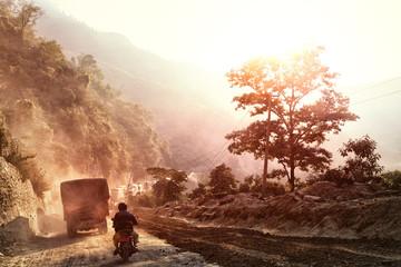 Narayanghat-Mugling Highway, Nepal