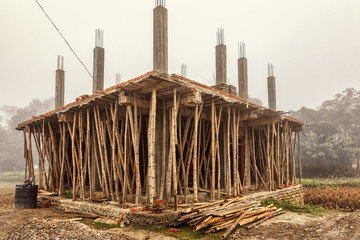 Constructing a House the Nepalese Way