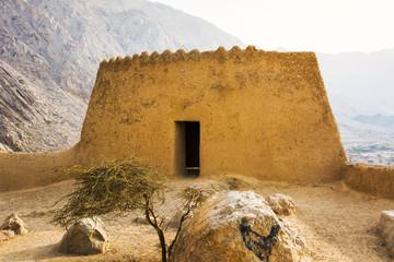 Dhayah Fort in north Ras Al Khaimah United Arab Emirates