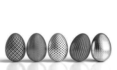 steel easter eggs
