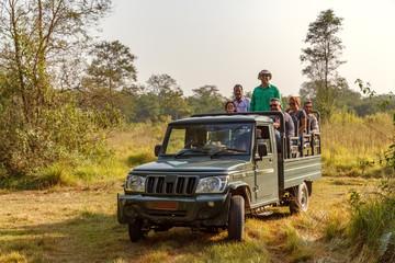 Jeep Safari, Chitwan NP, Nepal