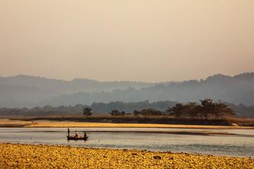 River Narayani, Chitwan NP, Nepal