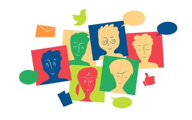 Comunicazione tra gruppi di utenti