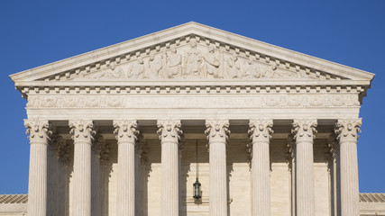 The architecture of the United States Supreme Court.