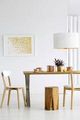 Cozy dining room interior