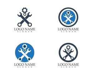 Auto gear logo design