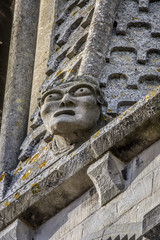 Modillon de l'église de Vernouillet, Yvelines