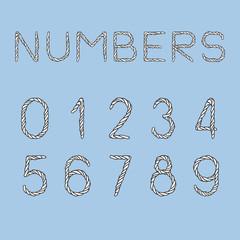 Nautical Rope Numbers