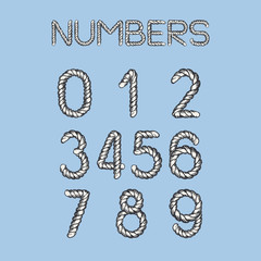 Nautical Rope Numbers