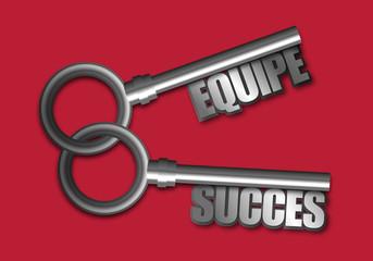 succès - réussite - solution - équipe - entreprise - stratégie - présentation - concept - ensemble