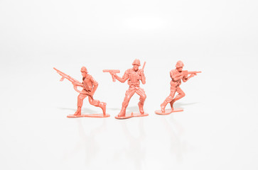 Brick Red Toy Soldiers