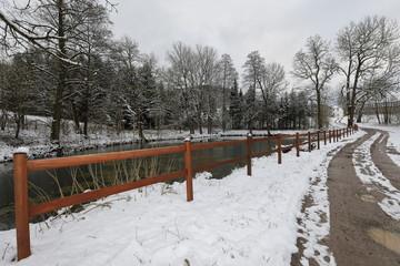 Winterlandschaft in Deutschland