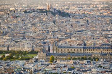 Cityscape of Paris, France