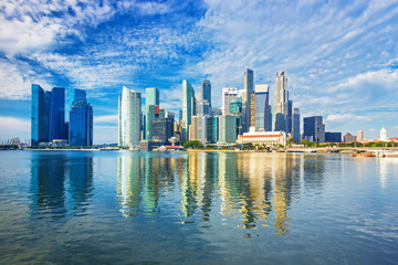 Amazing Singapore skyline,Singapore
