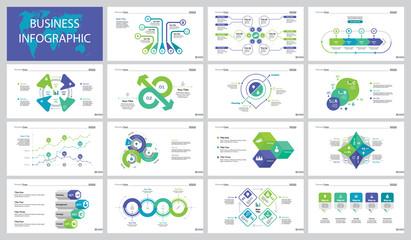 Company Research Slide Templates Set