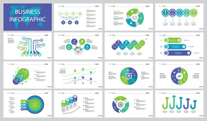 Fifteen Business Processes Slide Templates Set