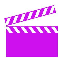 cinema clapboard icon