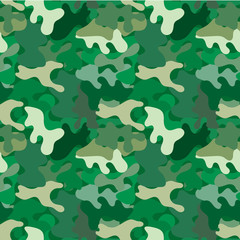 Vector camouflage seamless pattern. For wallpaper, backgrounds, textures in army or pseudo-army style