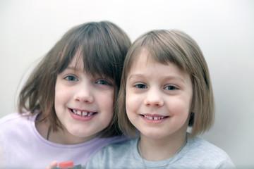 two little pretty girls