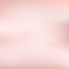 Vector Rose Gold blurred gradient style background. Abstract smooth colorful illustration, social media wallpaper