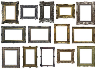 Collection of isplated frames