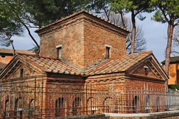 Ravenna, il Mausoleo di Galla Placidia