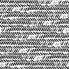 Black and white seamless abstract pattern. Grunge texture. Prints for textiles.