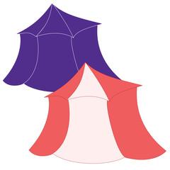 Tent for Fair Ground, Renaissance, Theme Park, Amusement, Circus, Zoo, Vendor, Fun Land