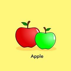 apple cartoon illustration
