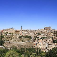 Toledo old historical city. Landscape. Spain.